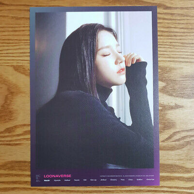 Heejin Loonaverse Concert Official MD Loona Mini Poster Monthly Girl Kpop