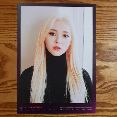Jinsoul Loonaverse Concert Official MD Loona Mini Poster Monthly Girl Kpop