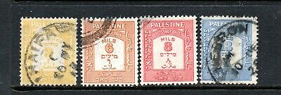 Palestine Postage Due  1924-8 to 13ml used