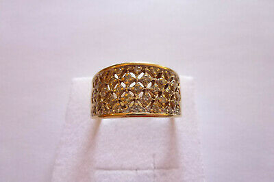 Prachtvoller seltener exclusiver Ring Gold 585 mit Brillanten 0,50 Carat