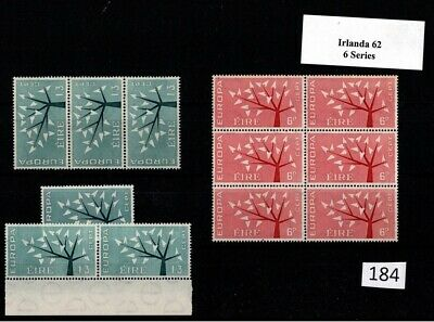 !! 6X Ireland 1962 - Mnh - Europa Cept - Wholesale
