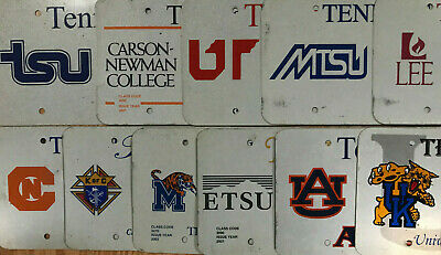 (choice) Tennessee license plate - real aluminum blank Colleges, Specialty
