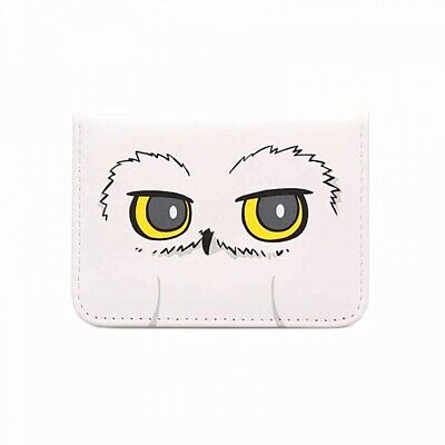 Genuine Warner Bros Harry Potter Hedwig Owl ID Card Holder Travel Pass Bus Train