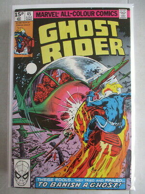 Ghost Rider Vol. 1 (1973-1983) #45 FN/VF UK Price Variant