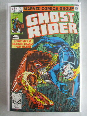 Ghost Rider Vol. 1 (1973-1983) #51 FN/VF UK Price Variant