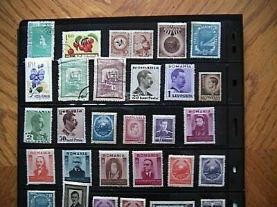 Romania - Large Selection Of Mint & Used Stamps, Little Duplication