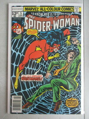 Spider-Woman Vol. 1 (1978-1983) #5 VF- UK Price Variant