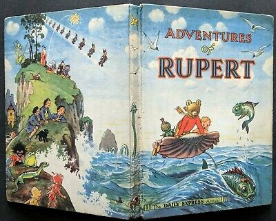 Rupert Annual 1950..original...not Inscribed Or Clipped....jarrold & Sons Print