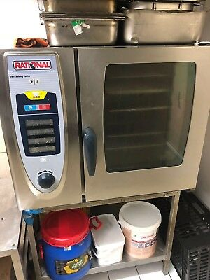 Rational COMBI OVEN 6 GRID  RATIONAL SelfCooking Centre 3 phase electric