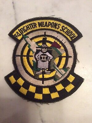 F-4 Phantom II Patch USAF US Air Force F-4 Fighter Weapons School