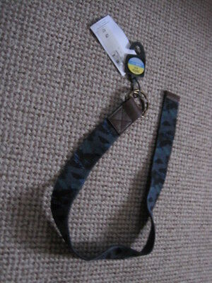"""BOYS BELT age 6-8 YEARS NEW WITH TAG BLUE MIX COTTON BRASS FASTENER 1.5 """" WIDE"""