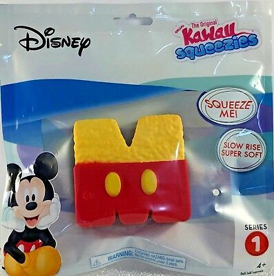 Neuf Disney Kawaii Mickey Mouse Riz Croustillant Plaisir Squeezies Squishy Slow