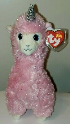 NEW! 2018 SUMMER Release Ty Beanie Babies LILY the Llama 8