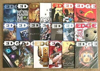 Edge Magazine Issues 161-180 Complete Run Immaculate Video Games Mag Collection!