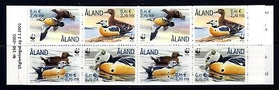 2001 Aland Duck Booklet Mint Unmounted