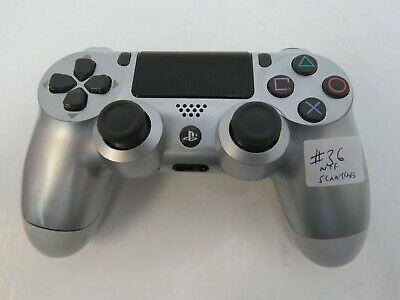 Sony PlayStation 4 Dualshock 4 Wireless Gaming Controller - Sony PS4 -Silver #36