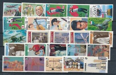 [G99861] Gambia good lot Very Fine MNH stamps