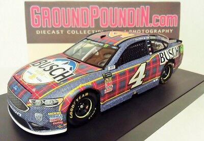 NEW! 2018 #4 Kevin Harvick BUSCH BEER FLANNEL Ford Fusion NASCAR 1/24