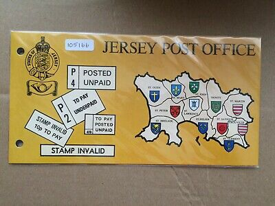 Jersey 1978 Postage Dues Presentation Pack (105166)