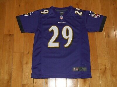 c04fa37ad86 Nike On Field JUSTIN FORSETT Purple BALTIMORE RAVENS Youth NFL Team JERSEY  Med