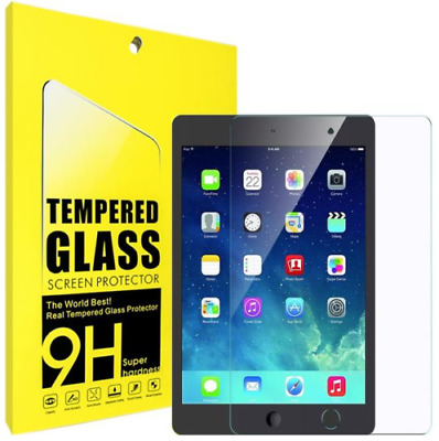 Tempered Glass Film Screen Protector For Apple Ipad Air 2/6/5 & Ipad 9.7 2017/18