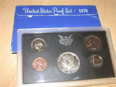 1970-S United States Mint SILVER Proof Coin Set