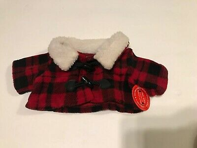 Build A Bear Plaid Jacket new With tags