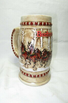 VINTAGE hard to find BUDWEISER MUG / STEIN ~ CS - 50