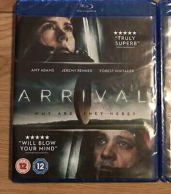 Arrival [Blu-ray], DVD, New, FREE & Fast Delivery Sealed