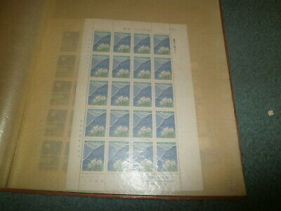 Korea Sheet/multiples Collection In Album, All Mint, Mostly Mnh