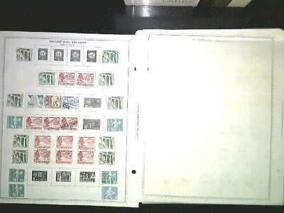 Switzerland Collection On Album Pages, Both Mint An Used
