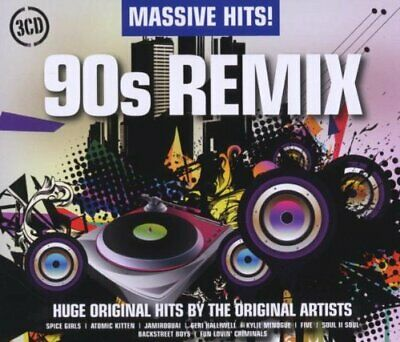 Various Artists - Massive Hits! - 90S Remix - Various Artists CD Q2VG The Cheap