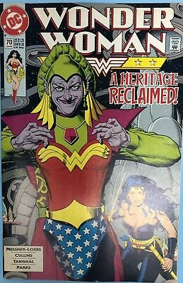 Wonder Woman #70 Brian Bolland Cover (DC 1993) Sharp Copy Rare Hard To Find