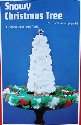 Vintage Macrame for Christmas Snowman Ornaments Santa Patterns Books 12 projects