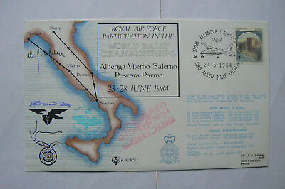 Raf(Rd)2 Fdc Raf In The World Rally Championship Signed By 3
