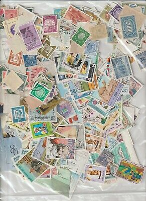 A Big Lot Of Stamps In Bulk From The World 3.