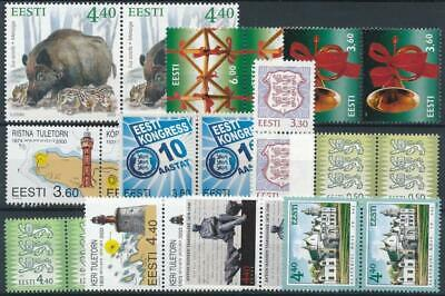 [121578] Estonia After 2000 good lot of stamps very fine MNH