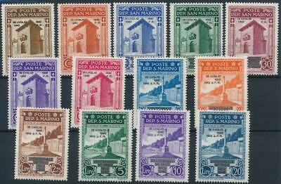 [122091] San Marino 1943 good set of stamps very fine MNH $42