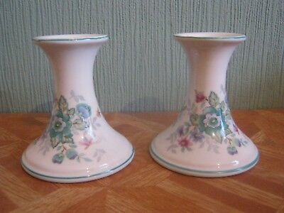 Pair of Candlesticks made in Japan Exclusively for Elizabeth Arden