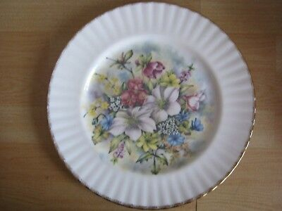 """Royal Vale """"Flowers of the Season"""" Winter Collectors Plate"""