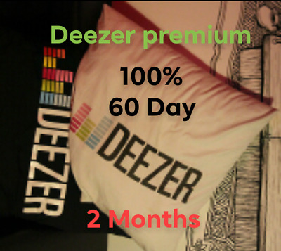 Deezer Premium Account 2 Months Subscription Instant Delivery-100% Private-Perso