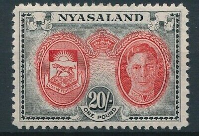 [5764] Nyasaland 1945 the good stamp very fine MNH