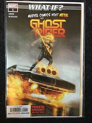 Brand new marvel comics GHOST RIDER what if ? #1 one shot 2018 marvel went metal