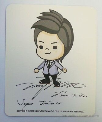 SUPER JUNIOR -Siwon (OFFICIAL) Character Card _kpop_smtown
