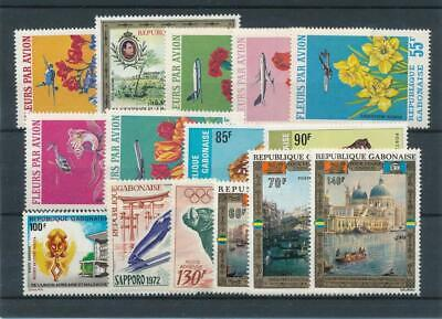 [111769] Gabon good Lot very fine MNH Airmail Stamps