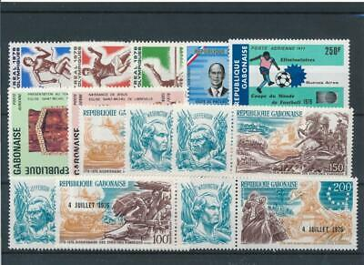 [111774] Gabon good Lot very fine MNH Airmail Stamps