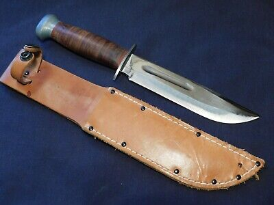 MINT WWII US Fighting Knife Bowie RH-36 PAL USA USMC USN Pilot