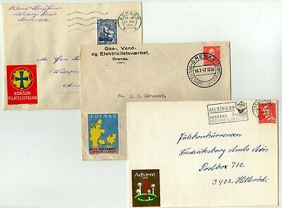 Denmark 3 covers with nice Cinderella's