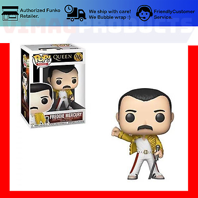 FREDDIE MERCURY WEMBLEY STADIUM - Funko Pop! Rocks #96 Queen Pre-Order