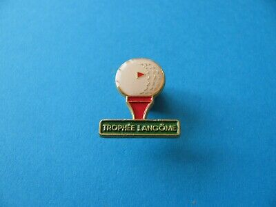 Trophee LANCOME Golf Trophy Pin Badge. VGC. Perfume.